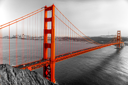 Golden Gate en San Francisco, California, EE.UU..