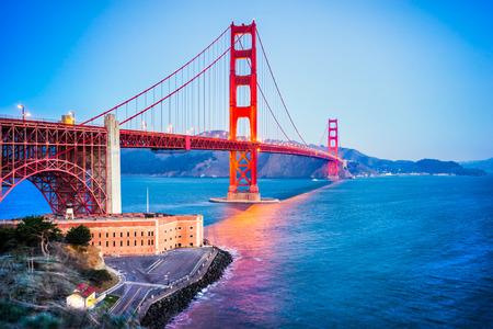 ゴールデン ゲート、サンフランシスコ、カリフォルニア、米国。 写真素材