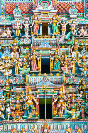 kali: Details of Hindu Temple in Singapore.