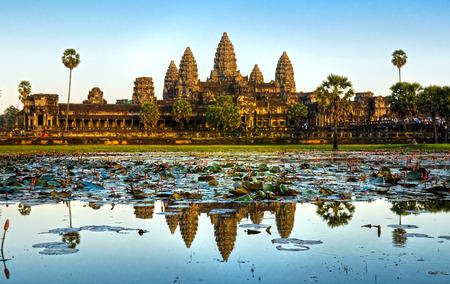 Angkor Wat tempel, Siem Reap, Cambodja.