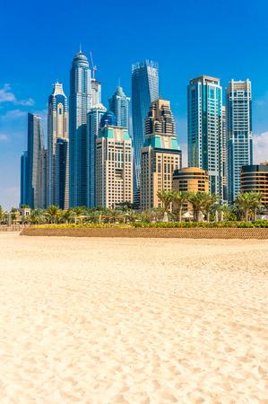 Skyscrapers in Dubai Marina. UAE 版權商用圖片