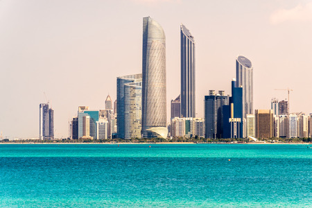 Abu Dhabi Skyline, United Arab Emirates photo