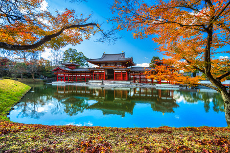 Byodo-in Temple. Kyoto, Japan.