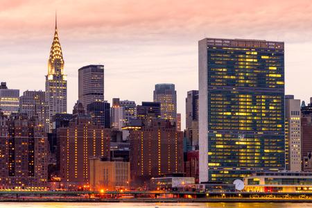 newyork: Midtown Manhattan skyline, New York City. USA.