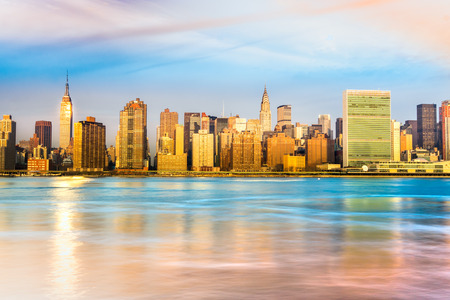 Midtown Manhattan skyline, New York City. USA. photo