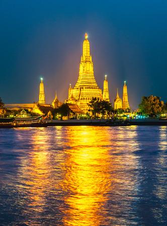 phraya: Wat Arun, The Temple of Dawn,  Bangkok, Thailandia. Stock Photo