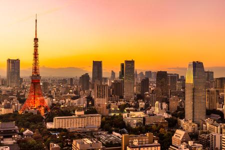 View of Tokyo Skyline Tokyo, Japan.
