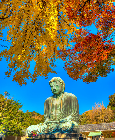 kamakura: The Great Buddha of Kotokuin Temple in Kamakura, Japan.
