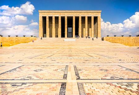 mausoleum: Mausoleum of Ataturk, Ankara Turkey Editorial