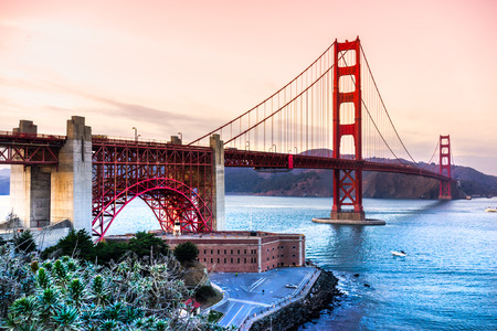 Golden Gate Bridge, San Francisco, Kalifornien, USA. Standard-Bild - 37688912