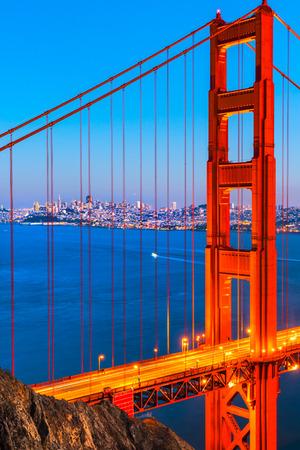 Golden Gate Bridge, San Francisco, California, USA. Stock Photo