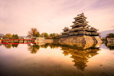 tokyo prefecture: The Matsumoto Castle in Autumn, Nagano prefecture,  Japan.