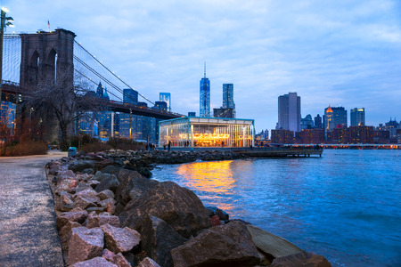 midtown manhattan: Midtown Manhattan skyline in New York City, USA. Stock Photo