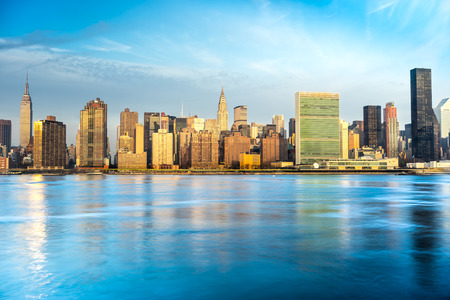 new: Midtown Manhattan skyline, New York City. USA.