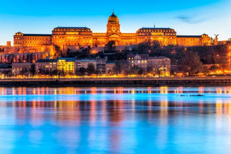 buda: Buda Castle in Budapest, Hungary