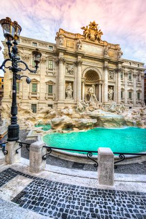 fountain: Rome, Trevi Fountain. Italy.