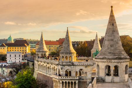 bastion: Budapest, Fishermans Bastion, Hungary