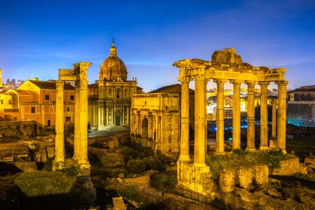 Forum romain. Italie.