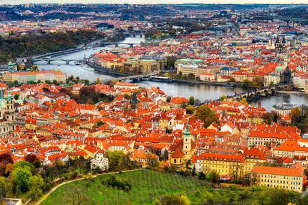 Praga. Repubblica Ceca Archivio Fotografico