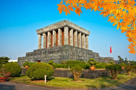 mausoleum: Ho Chi Minh Mausoleum in Hanoi, Vietnam.