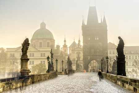 Prague, Charles Bridge and Old Townl. Czech Republic