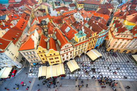 old town square: Prague, Old Town Square. Czech Republic