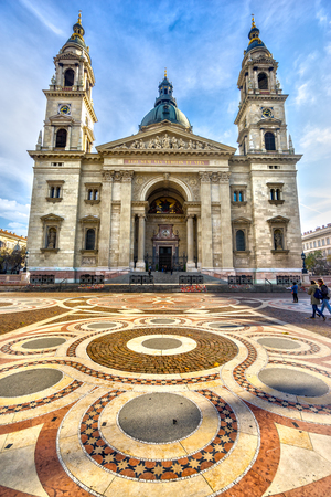 saint stephen cathedral: Budapest, St. Stephen�s Cathedral. Hungary