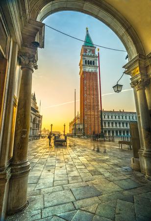 marco: Sunrise in San Marco, Venice, Italy