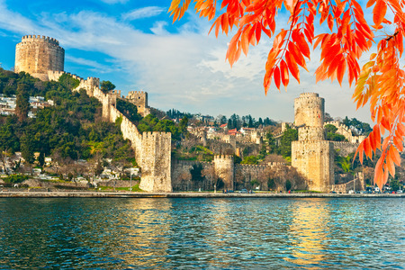 rumeli: The beautiful View of Rumeli Fortress, Istanbul, Turkey.