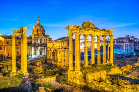 forum: Roman Forum. Italy.