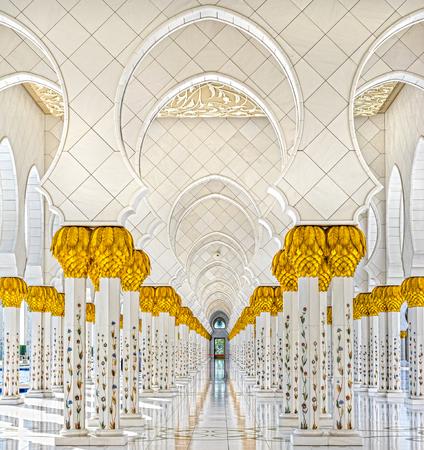 シェイク ・ ザーイド ・ モスク、アブダビ, アラブ首長国連邦