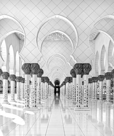 zayed: Sheikh Zayed Mosque, Abu Dhabi, United Arab Emirates