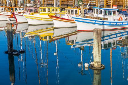 san: Fishing Boat in San Francisco, California, USA.