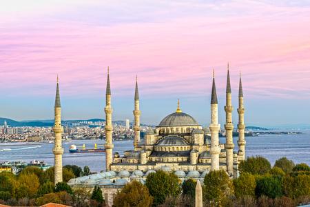 La Moschea Blu, (Sultanahmet Camii), Istanbul, Turchia. Archivio Fotografico - 67117867