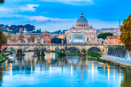 Wonderful view of St Peter Cathedral, Rome, Italy Reklamní fotografie