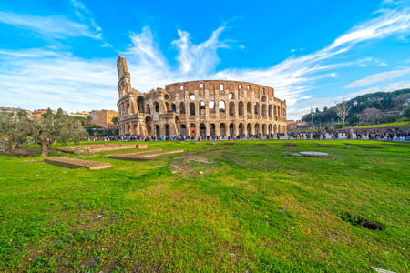 Rome, The Majestic Coliseum. Italy.