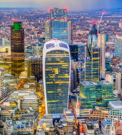 City of London financial district, London, UK Stock Photo
