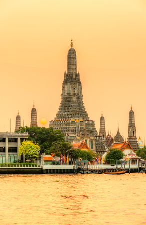 Wat Arun, The Temple of Dawn,  Bangkok, Thailandia. Stock Photo