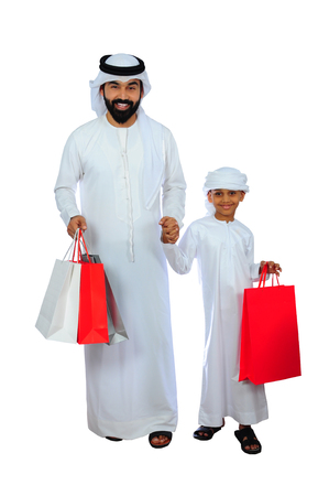 Arab Family Shopping