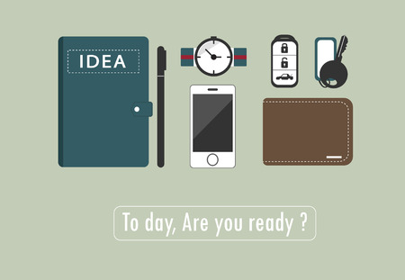 daily life: Device for daily life Illustration