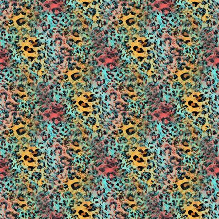 reiterate: leopard skin pattern