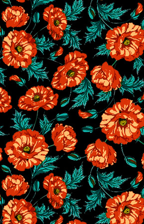 abstract flowers backround Stok Fotoğraf