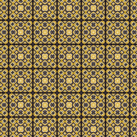 51: Abstract flowers pattern 51
