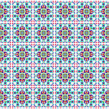 32: Abstract flowers pattern 32