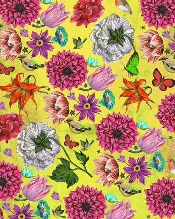 backround: flowers backround