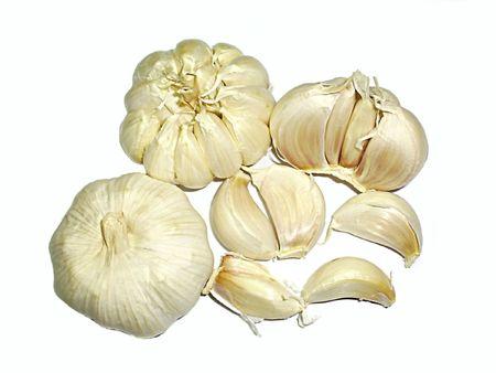 lipoprotein: herb and spice garlic Stock Photo