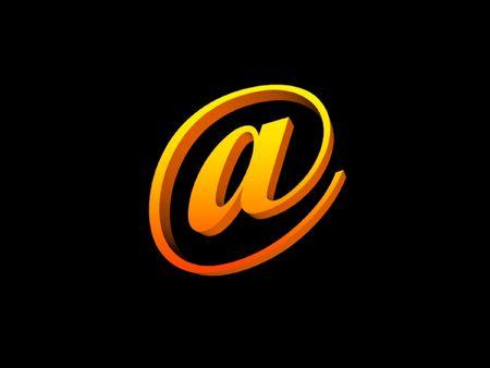 worldwideweb: email symbol @