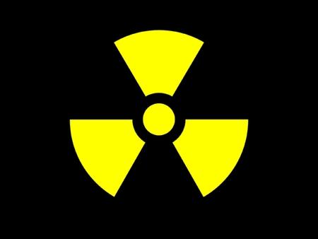 symbol radioactive danger Stock Photo - 1694148