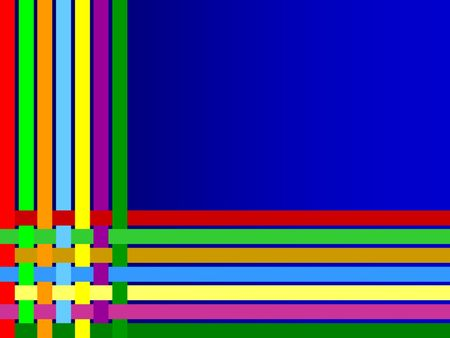 background colorful lines weave photo