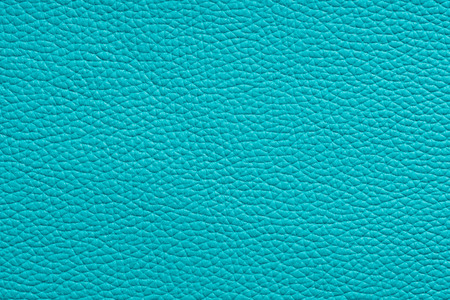 rawhide: clear empty natural turquoise leather texture Stock Photo